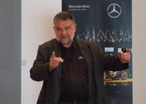 Frank-Werner Mohn v elementu