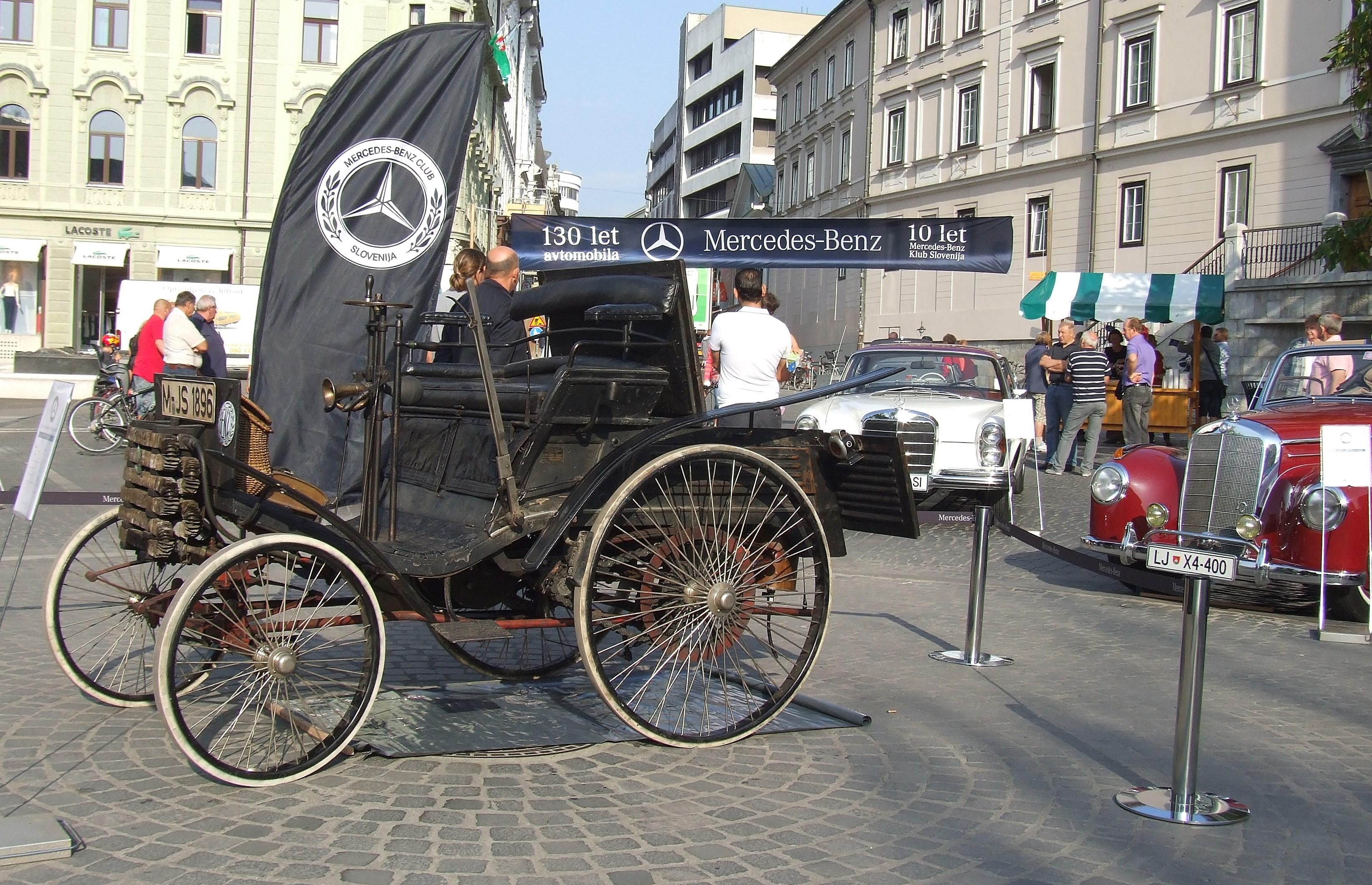 Benz Velo na razstavi 130 let avtomobila