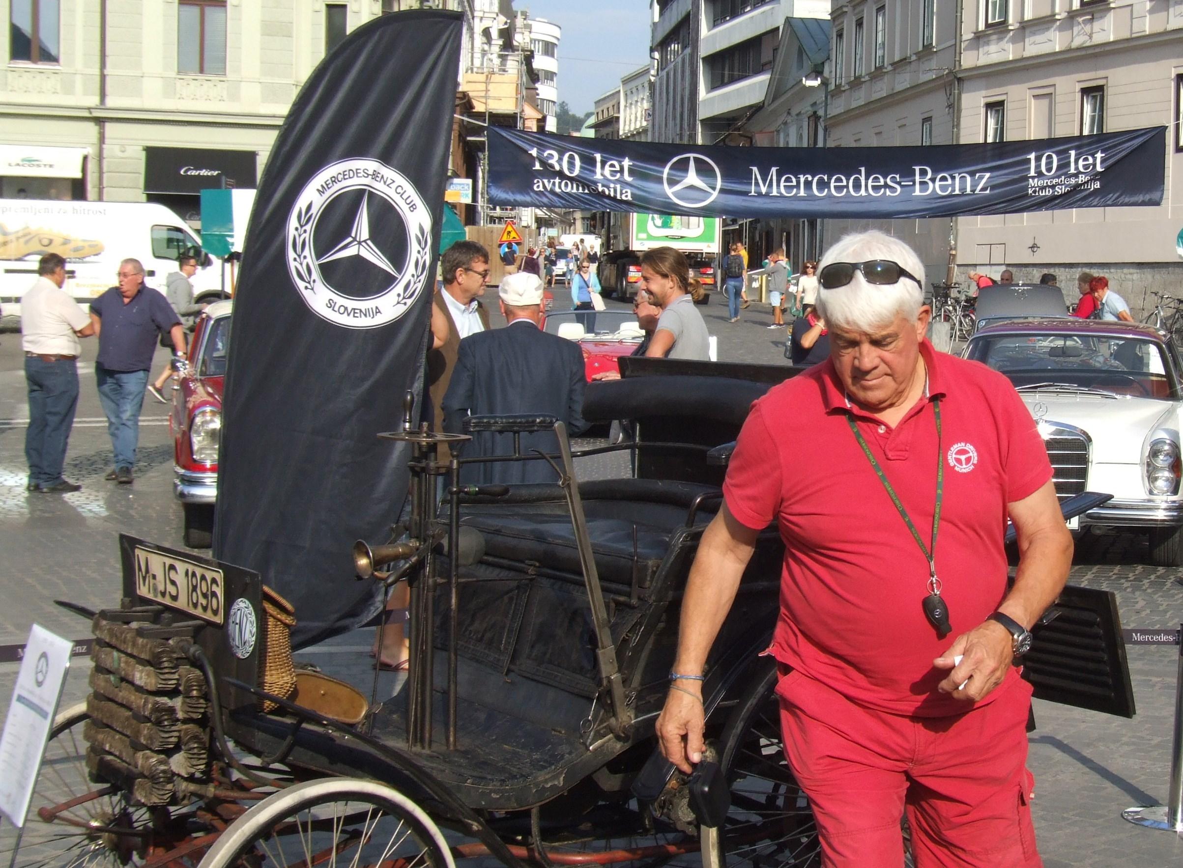 Christoph Schmidt je s svojim Velom postal strokovnjak za Benze